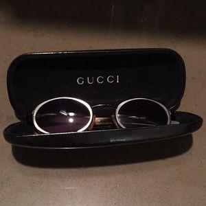 Gucci sunglasses in case